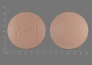 Imprint 221 - Januvia 25 mg