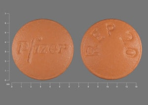 Imprint Pfizer REP 20 - Relpax 20 mg