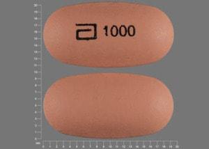 Imprint a 1000 - Niaspan 1000 mg