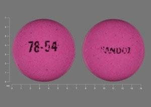 Image 1 - Imprint SANDOZ 78-54 - Methergine 0.2 mg