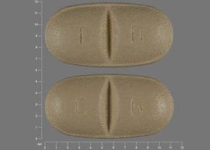 Imprint T D C G - Trileptal 150 mg