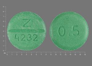 Image 1 - Imprint Z 4232 0.5 - bumetanide 0.5 mg
