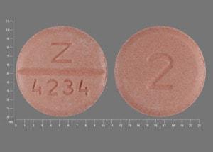 Image 1 - Imprint Z 4234 2 - bumetanide 2 mg