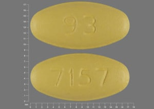 Imprint 7157 93 - clarithromycin 250 mg