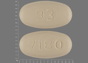 Imprint 7180 93 - ofloxacin 200 mg
