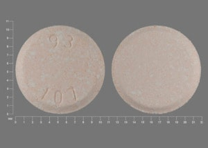Imprint 93 107 - mebendazole 100 mg