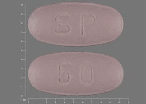 Imprint SP 50 - Vimpat lacosamide 50 mg