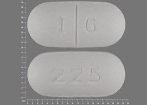Imprint I G 225 - gemfibrozil 600 mg
