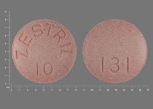 Image 1 - Imprint ZESTRIL 10 131 - Zestril 10 mg
