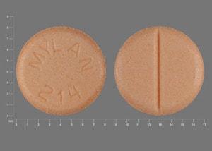 Image 1 - Imprint MYLAN 214 - haloperidol 2 mg
