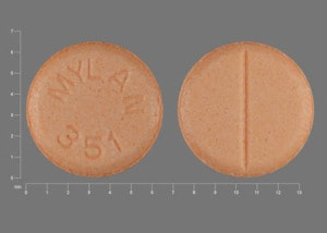 Image 1 - Imprint MYLAN 351 - haloperidol 0.5 mg