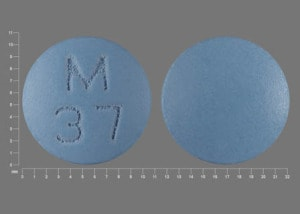 Imprint M 37 - amitriptyline 75 mg