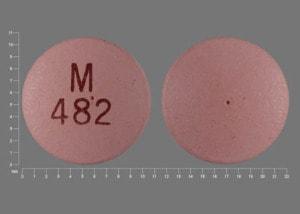 Imprint M 482 - nifedipine 60 mg