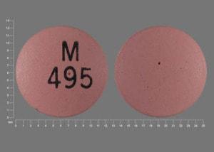 Imprint M 495 - nifedipine 90 mg