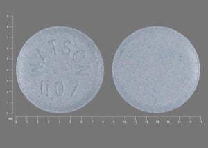 Imprint WATSON 407 - lisinopril 10 mg