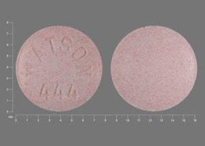 Image 1 - Imprint WATSON 444 - guanfacine 1 mg