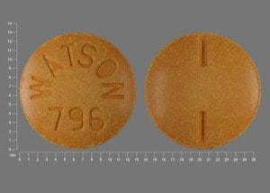 Imprint WATSON 796 - sulfasalazine 500 mg