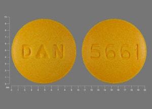 Imprint 5661 DAN - sulindac 150 mg