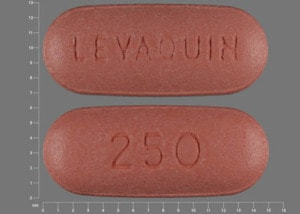 Image 1 - Imprint LEVAQUIN 250 - Levaquin 250 mg