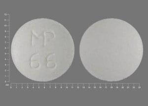 Imprint MP 66 - quinidine 324 mg