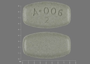 Imprint A-006       2 - Abilify 2 mg