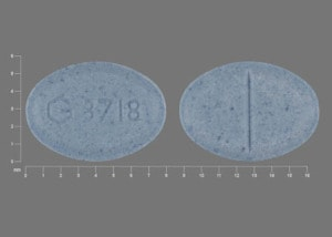 Imprint G 3718 - triazolam 0.25 mg