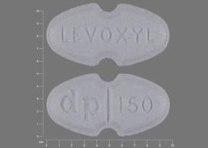 Image 1 - Imprint LEVOXYL dp 150 - Levoxyl 150 mcg (0.15 mg)