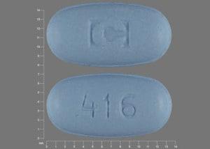 Imprint 416 C - Gabitril 16 mg