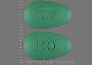 Imprint TAP 80 - Uloric 80 mg
