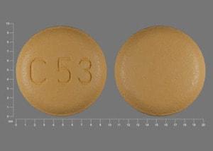 Imprint C53 - Tribenzor 5 mg / 12.5 mg / 40 mg