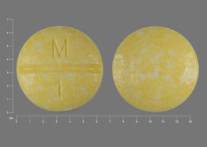 Imprint M 1 - methotrexate 2.5 mg
