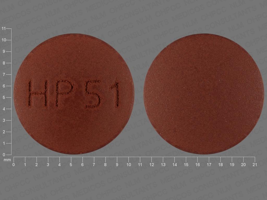Imprint HP51 - nystatin 500000 units