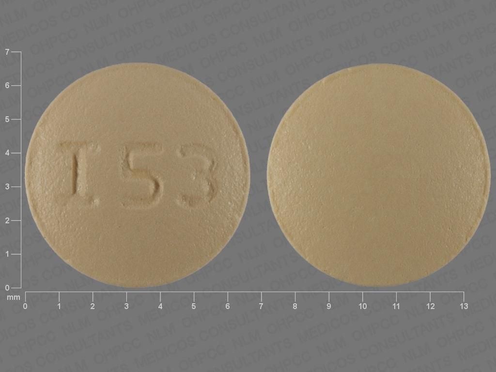 Imprint I53 - naratriptan 1 mg