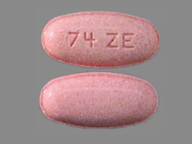 Imprint 74 ZE - erythromycin 400 mg