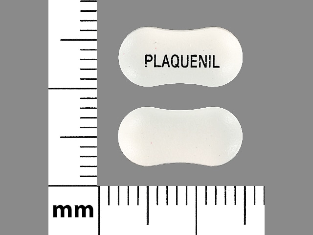 Imprint PLAQUENIL - hydroxychloroquine 200 mg
