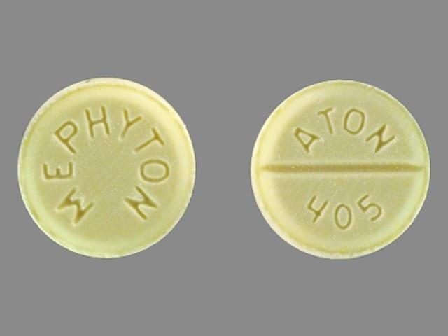 Imprint MEPHYTON ATON 405 - Mephyton 5 mg