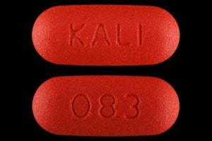 Imprint 083 KALI - acetaminophen/tramadol 325 mg / 37.5 mg