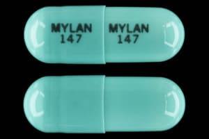 Image 1 - Imprint MYLAN 147 MYLAN 147 - indomethacin 50 mg