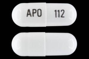 Image 1 - Imprint APO 112 - gabapentin 100 mg