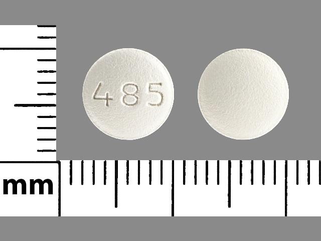 Imprint 485 - bicalutamide 50 mg