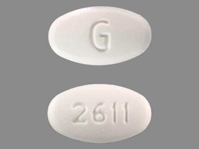 Imprint G 2611 - terbutaline 2.5 mg