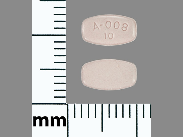 Imprint A-008 10 - Abilify 10 mg