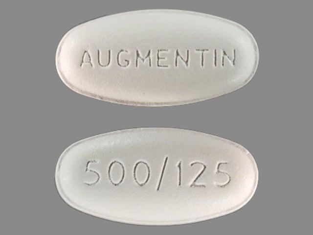Image 1 - Imprint AUGMENTIN 500/125 - Augmentin 500 mg / 125 mg