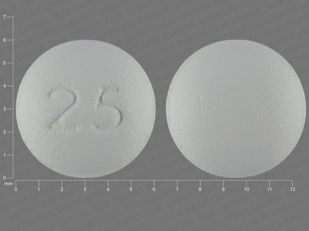 Imprint 25 - exemestane 25 mg