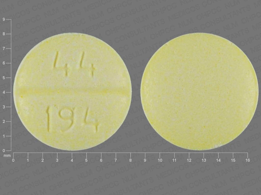 Imprint 44 194 - chlorpheniramine 4 mg