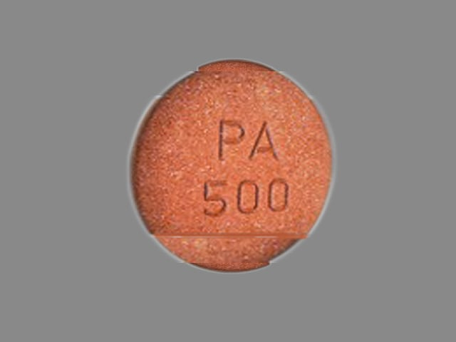 Imprint PA 500 - Velphoro 500 mg