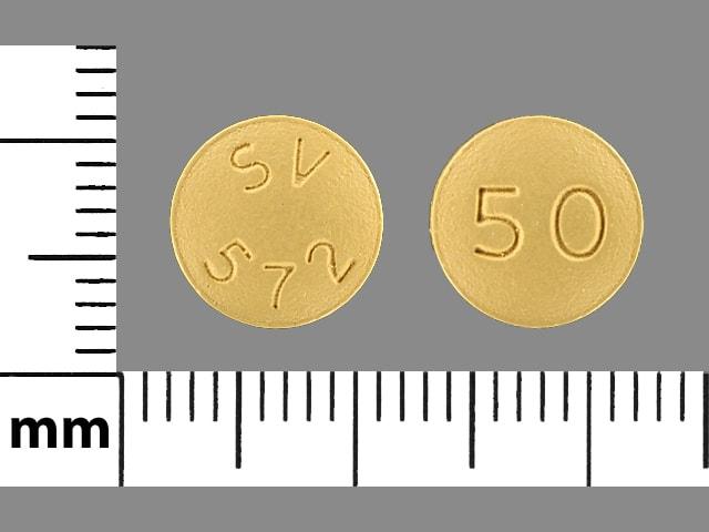Imprint SV 572 50 - Tivicay 50 mg