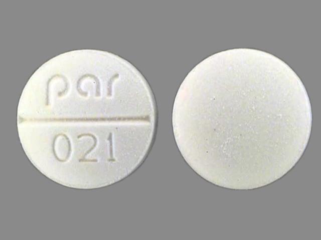 Image 1 - Imprint par 021 - isosorbide dinitrate 10 mg