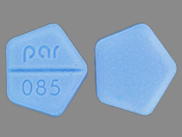 Imprint par 085 - dexamethasone 0.75 mg