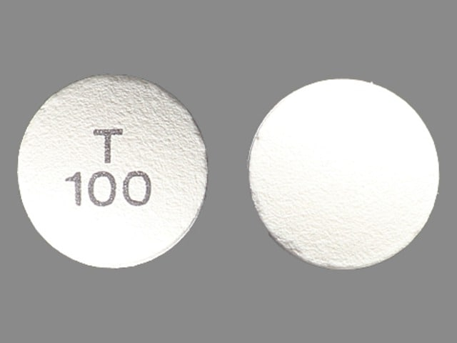Imprint T 100 - Tarceva 100 mg